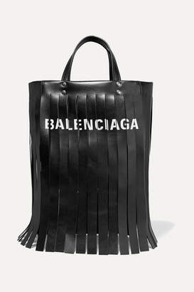 Fourre-tout En Cuir Imprimé Frangée Balenciaga - Rouge La Vente En Ligne À La Mode Best-seller De Sortie L'arrivée De Nouveaux Prix Pas Cher AMaVjcYlO9