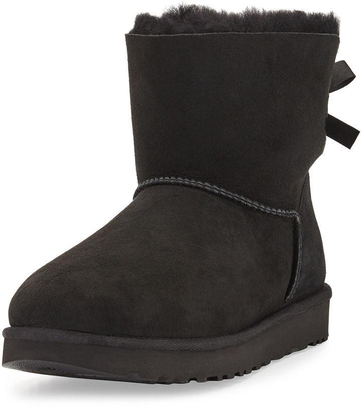 UGG Mini Bailey Bow II Shearling Fur Boot