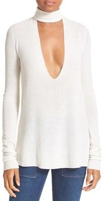 Women's A.l.c. Caro Merino Wool Cutout Sweater $295 thestylecure.com