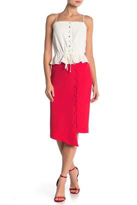 ABS by Allen Schwartz Phoenix Asymmetrical Pencil Skirt