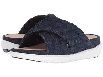 FitFlop Loosh Luxetm Cross Slide Leather Sandals