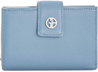 Giani Bernini Softy Leather Framed Colorblock Wallet, Created for Macy's