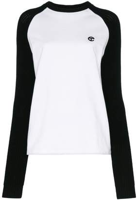 Telfar Raglan Cotton Sweatshirt