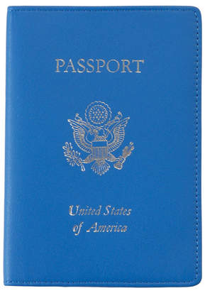 Royce Leather Royce New York Foil Stamped Rfid Blocking Passport Case