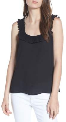 Chelsea28 Ruffle Pleated Tank