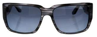 Barton Perreira Tinted Square Sunglasses