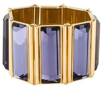 Etro Crystal Wide Link Bracelet