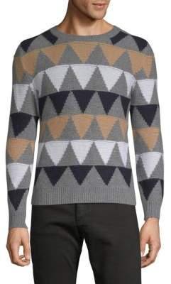 Valentino Geometric Cashmere Sweater