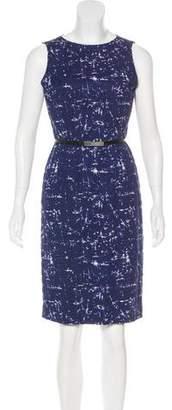 Michael Kors Belted Batik Dress