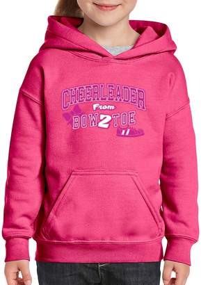 Ugo Cheerleader Bow 2 Toe Cheerleading Song Cheerleader Costume Song Bows Girls Boys Youth Kids Hoodie