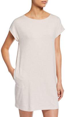 Hanro Natural Elegance Cap-Sleeve Nightgown