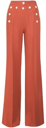 Derek Lam high-waisted wide-legged trousers $1,495 thestylecure.com