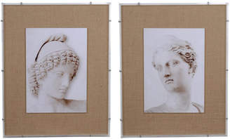 A&B Home Set Of 2 Roman Framed Prints