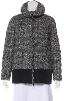 Moncler Wool-Blend Down Jacket
