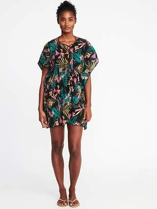 Old Navy Embroidered Gauze Swim Kaftan for Women