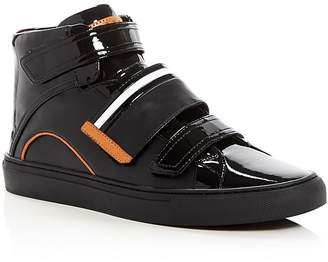 Bally Herick High Top Sneakers $525 thestylecure.com