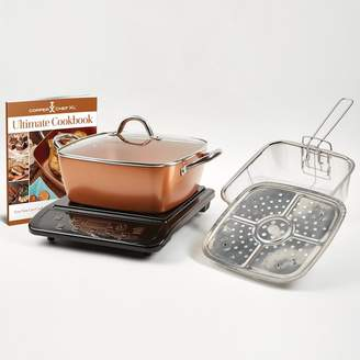 As Seen On Tv Copper Chef XL 5-pc. Casserole Pan Set with Induction Cooktop As Seen on TV