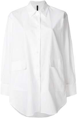 Sara Lanzi oversize long sleeve shirt