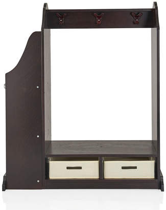 Guidecraft Kids Vanity + Stool-Espresso
