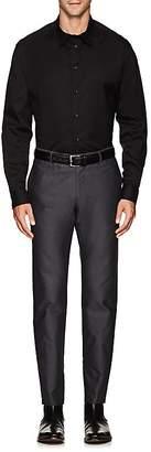 Armani Collezioni MEN'S COTTON-BLEND POPLIN DRESS SHIRT