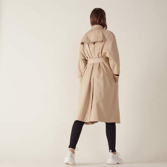Sandro Long trench-style coat