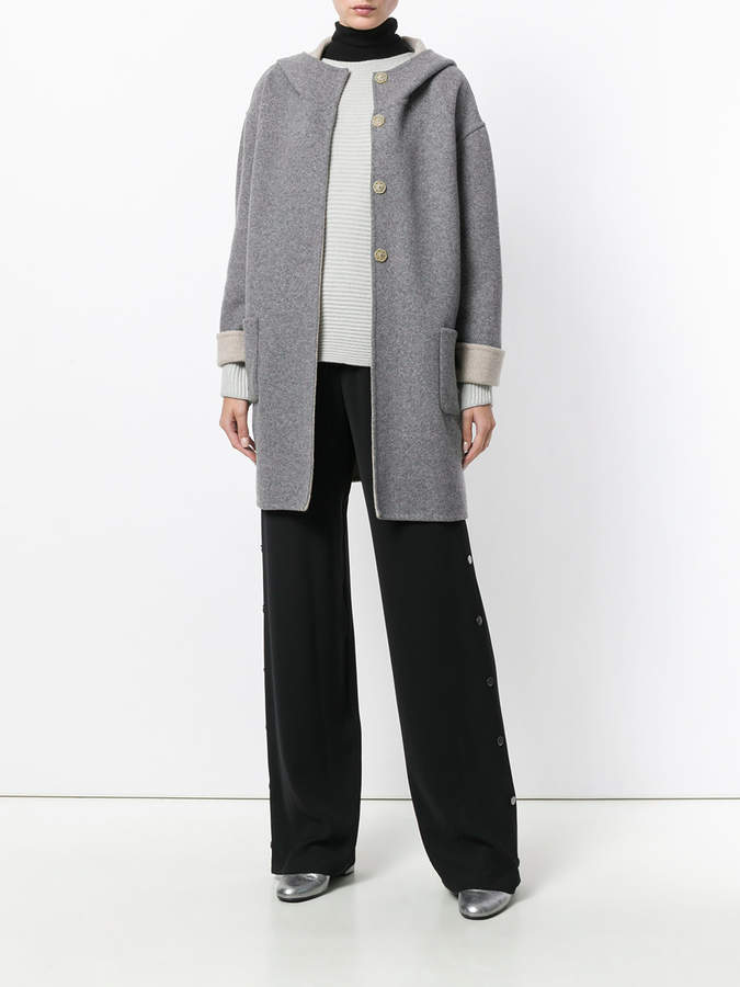 Le Tricot Perugia ribbed knit sweater