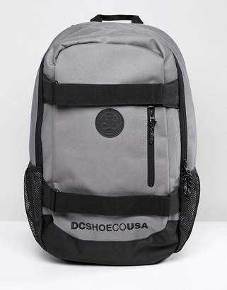 DC Clocked Backpack In Gray
