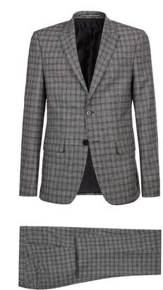 Givenchy Wool-Cashmere Check Suit