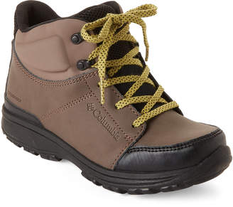 Columbia Kids Boys) Mud & Peppercorn Everett Waterproof Boots