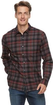 Apt. 9 Men's Brushed Flannel Button-Down Shirt