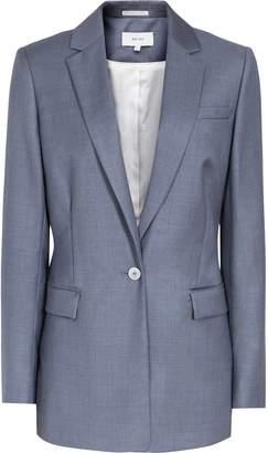 Reiss Leyton Jacket - Single-breasted Blazer in Blue