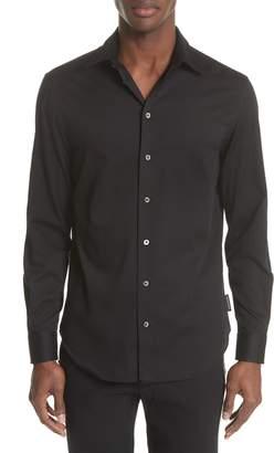 Emporio Armani Slim Fit Solid Sport Shirt