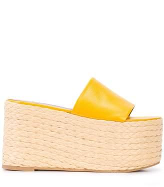 Simon Miller platform espadrille wedge sandals