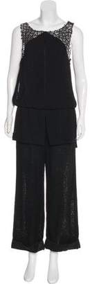 Chanel Wool Wide-Leg Jumpsuit