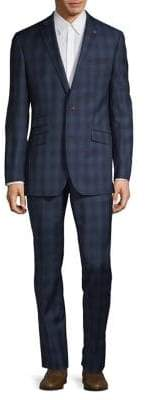 Ted Baker No Ordinary Joe Two-Piece Joey Checkered Suit
