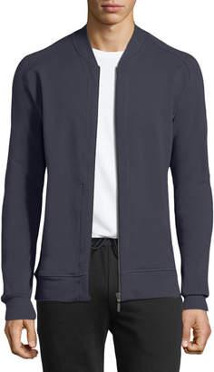 Hanro Living Zip-Front Knit Jacket