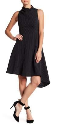 Betsey Johnson Sleeveless Striped Dress