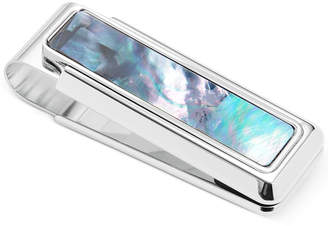 Mother of Pearl M-Clip Money Clip