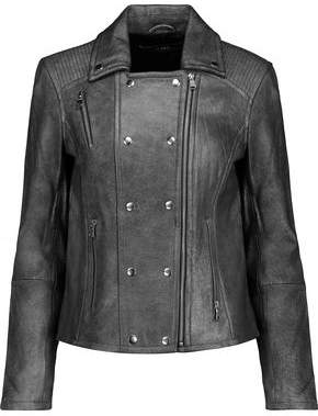 J Brand Valo Leather Biker Jacket