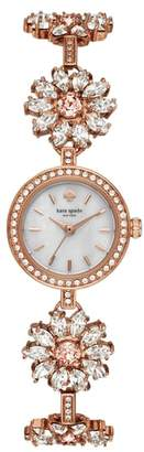 Kate Spade Daisy Chain Crystal Watch, 20mm
