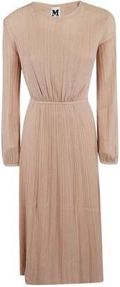 M Missoni Pleated Knit Dress