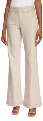 NYDJ Claire Textured Linen Twill Pants $124 thestylecure.com