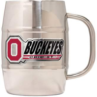 NCAA Kohl's Ohio State Buckeyes Stainless Steel Barrel Mug