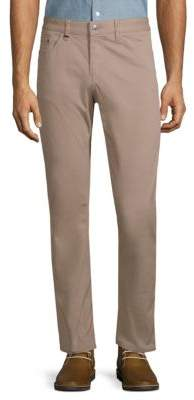 HUGO BOSS Delaware Stretch Cotton Pants