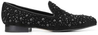 Donald J Pliner LYNNSP, Embellished Kid Suede Loafer