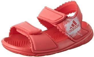 differently 88a7b d926a adidas Altaswim, Baby Girls Sandals, (Core ftwr Whiteftwr White)