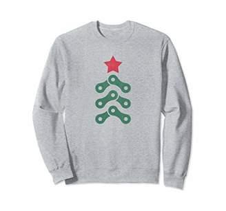 Christmas Tree Cycling Bike Chain Sweatshirt Men Women