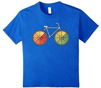Bicycle Vintage Graphic Print T-shirt - Retro