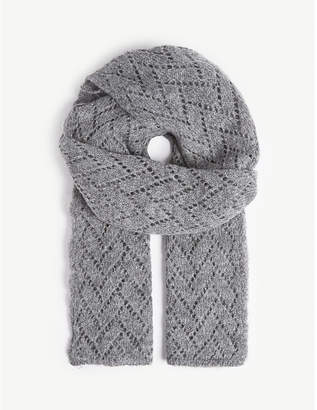 Sandro Knitted scarf