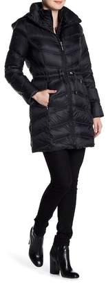 Ellen Tracy Packable Down Jacket $260 thestylecure.com